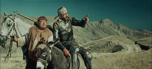 Grigori Kozintsev's Don Quixote DVD Review