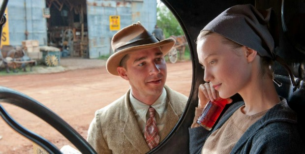 Mia Wasikowska and Dane DeHaan (Lawless) interview