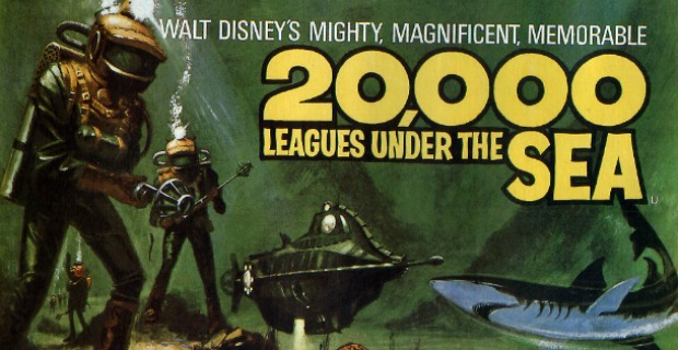 Brad Pitt To Star in David Fincher's 20,000 Leagues Under The Sea?