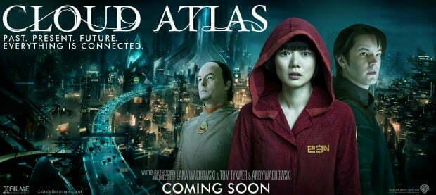 New Cloud Atlas Featurette(& tv spots) has a 'Multitude of Drops'