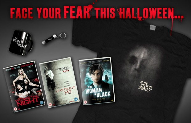 Win We Are The Night, Apartment 143 & Woman In Black Goodies