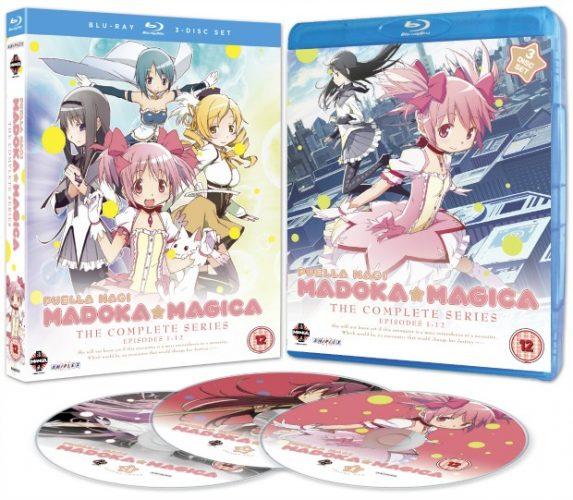 Win Puella Magi Madoka Magica: The Complete Series On Blu-Ray