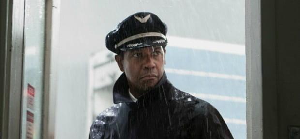 Belt Up Denzil Washington Flies Upside Down In Flight Extended TV Spot