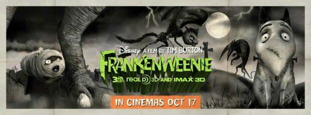 6 Classic Monster Frankenweenie Posters To Celebrate Monstober!