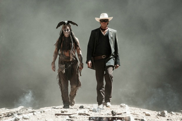First Official Teaser Poster And Images For Disney's Lone Ranger