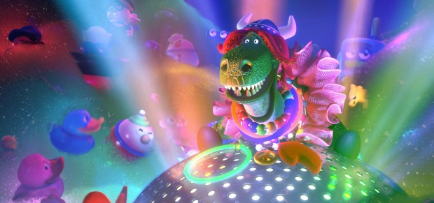 Watch Toy Story Short 'PARTYSAURUS REX', Whattup fishes?!