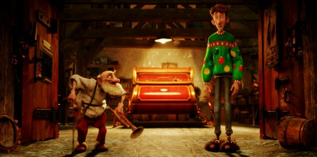 Arthur Christmas Blu-Ray Review
