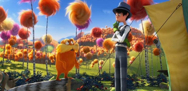 Watch 5 Clips From Dr. Seuss' The Lorax