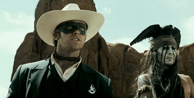 Good Men Wear Masks, Second Trailer For The Lone Ranger Yee-hah!