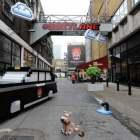 Wreck-It Ralph #8BitLane Disney Tranform Famous London Street Like 8 Bit Game!