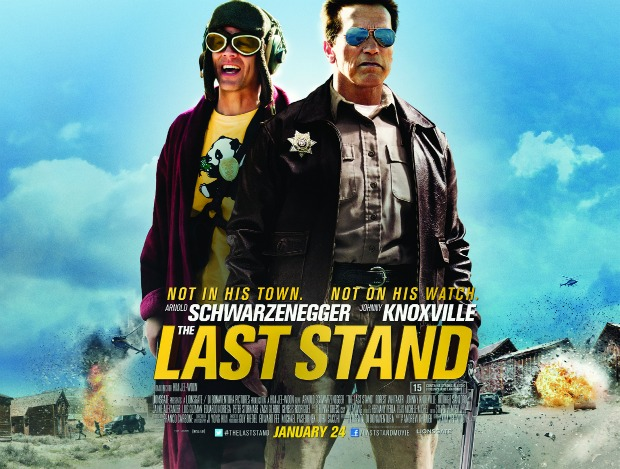 UK Poster, New Clip & TV Spot For The Last Stand