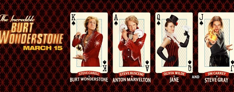The Incredible Burt Wonderstone First TV Spot & New Posters