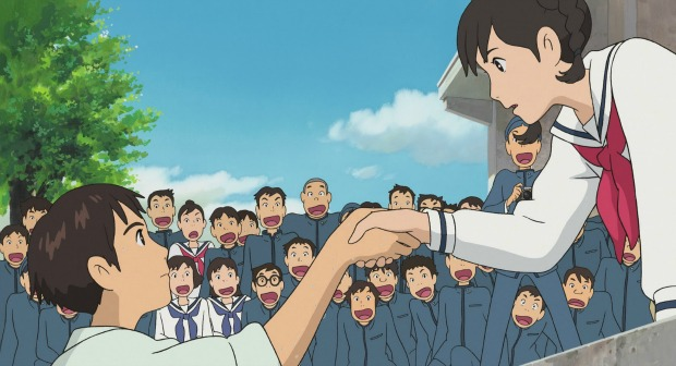 GFF 2013 – Watch The American Trailer For Studio Ghibli's From Up on Poppy Hill