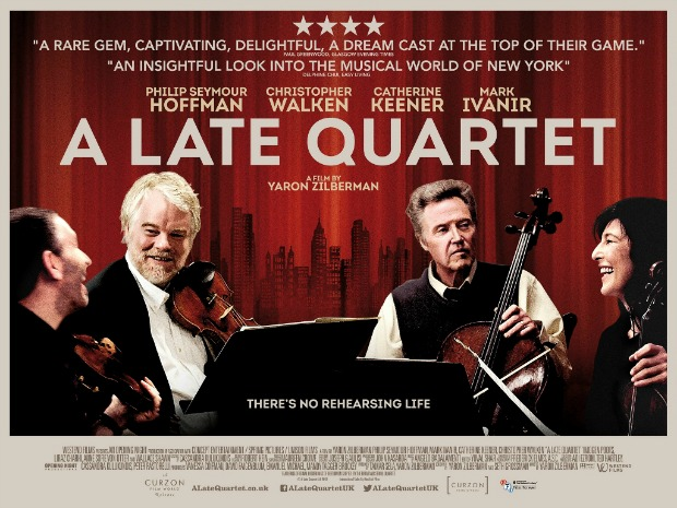 Watch UK Trailer For A Late Quartet Starring Christopher Walken