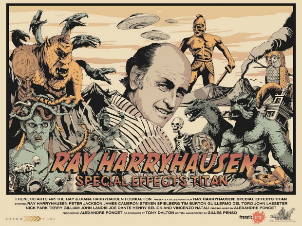 Win Ray Harryhausen Special Effects Titan On DVD/Blu-Ray