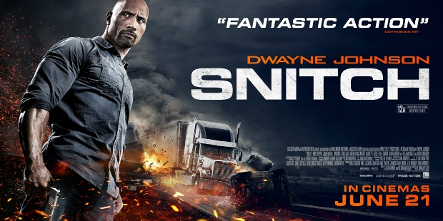 New UK Trailer & Poster For Dwayne Johnson's Snitch