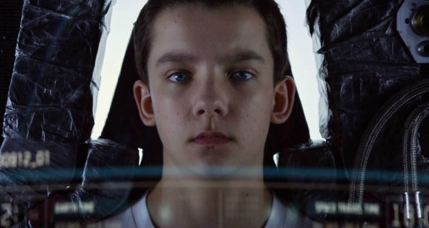 Watch First Ender's Game Trailer! Han Solo Kids Versus Aliens!