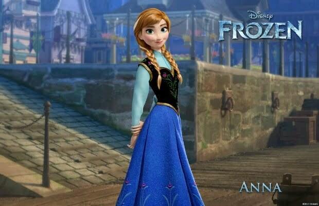 New Character Posters & Descriptions For Disney's Frozen