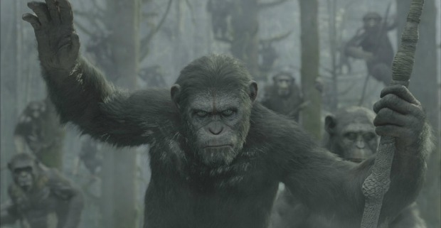 Man Vs. Ape,The Dawn Of The Planet Of The Apes First Trailer Has Arrived!