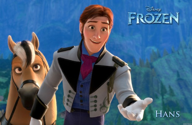 """FROZEN"" (Pictured) HANS.  ©2013 Disney. All Rights Reserved."