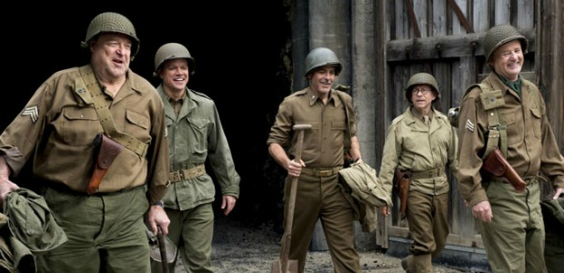 Art Avengers Assemble In The First The Monuments Men Trailer