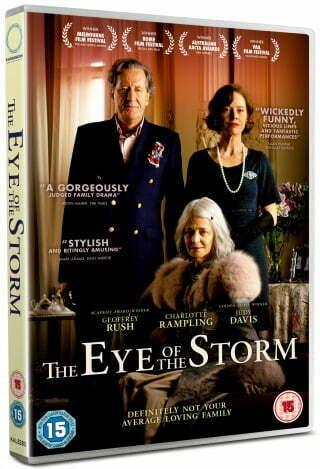 Win The Eye Of The Storm Starring Geoffrey Rush, Charlotte Rampling