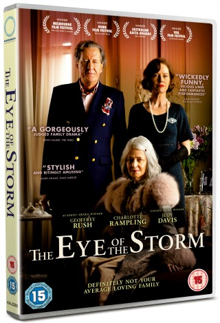 Win The Eye Of The Storm Starring Geoffrey Rush, Charlotte Rampling