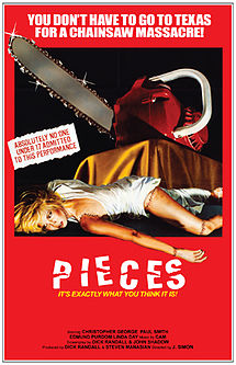 31 Days of Horror: Day 30- Pieces (1982)
