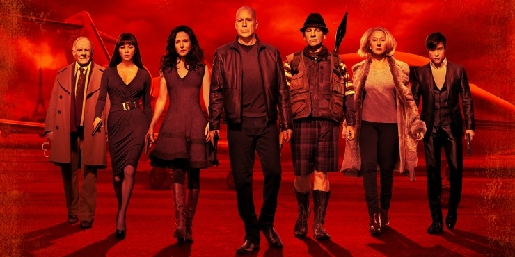 DVD Review – RED 2