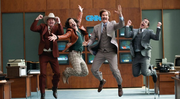 Review – Anchorman 2: The Legend Continues