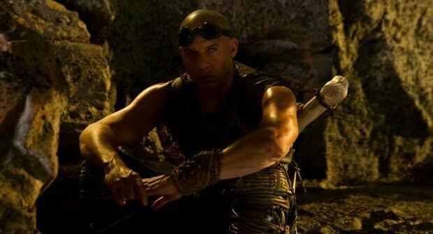 Win Riddick On Blu-ray And Merchandise
