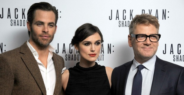 Jack Ryan: Shadow Recruit European Premiere Report Plus Clips
