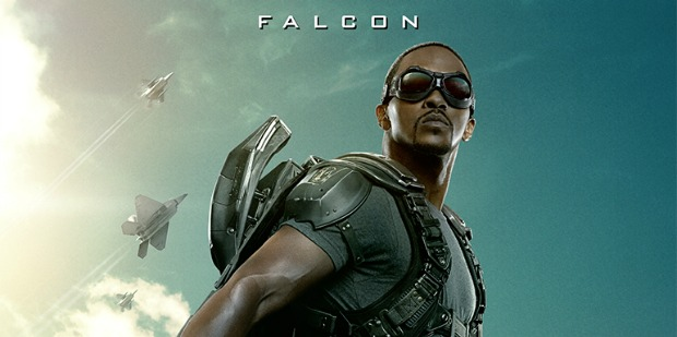 Falcon Spreads His Wings In Captain America:The Winter Soldier Poster