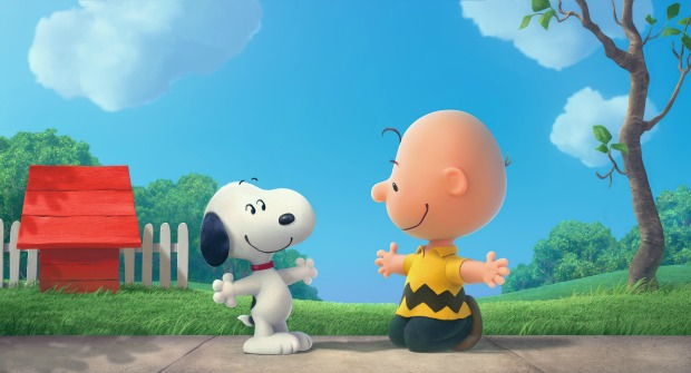 Join the gang in new posters for The Peanuts Movie