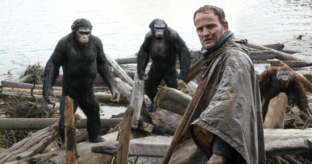 Simian Army Unites In New UK Dawn Of The Planet Of The Apes Trailer