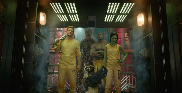 Galactic Opening For The Guardians Of The Galaxy, Now UK #1