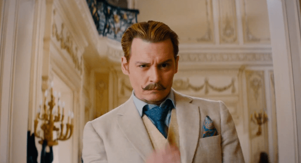 WIN SOME SUAVE MERCHANDISE WITH MORTDECAI – OUT ON DVD AND BLU-RAY JUNE 8TH