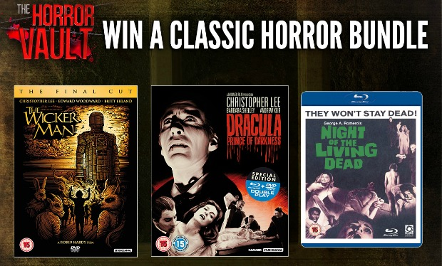 Win The Horror Vault Classic DVD Bundle