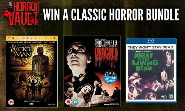 Win The Horror Vault Classic DVD Bundle