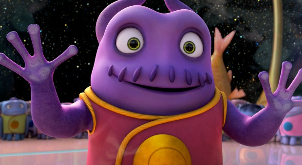 Dreamworks Animation's  Home Trailer Lands On Planet Internet