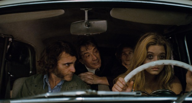 Watch Brand New Clips Plus Posters For Inherent Vice