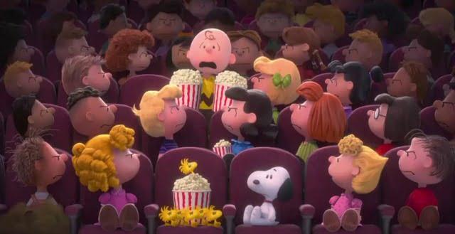 Snoopy and Charlie Brown  The Peanuts Movie -cinema