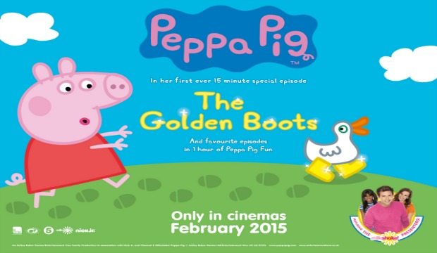Peppa Pig oinks her way on to the big screen
