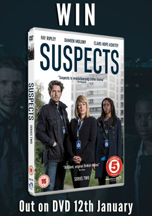 Win British Crime Drama Suspects Season 2 On DVD
