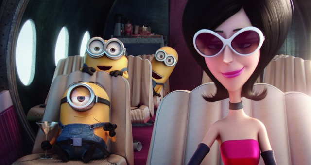 Its All About Scarlett Overkill In New Minions Movie UK Trailer