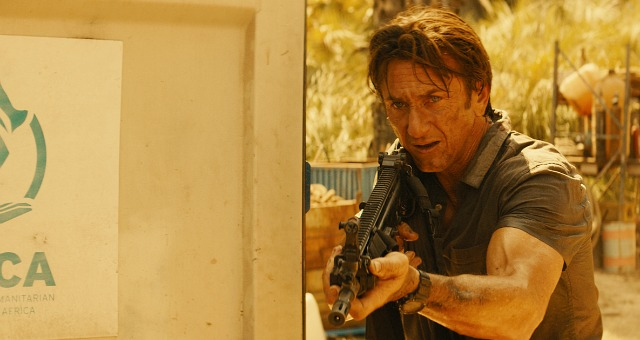 Watch Sean Penn and Idris Elba in new clip from The Gunman