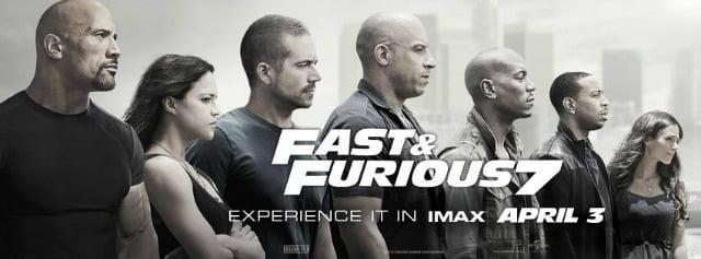 FAST & FURIOUS 7- IMAX