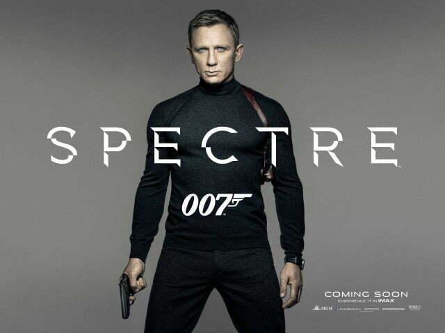SPECTRE - Teaser PosterUK