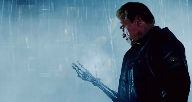 Explore the new T-1000 and three new clips from Terminator Genisys