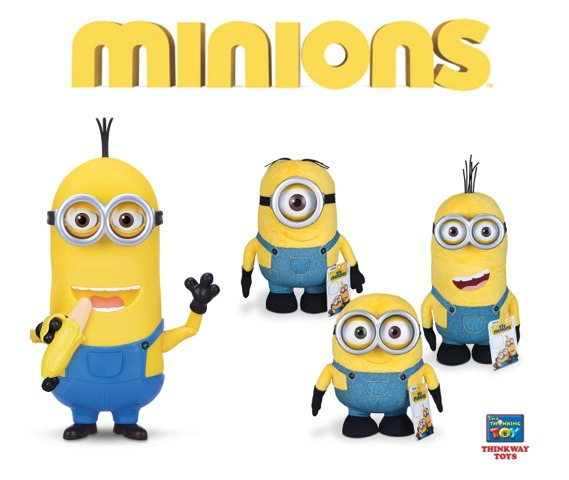 The Official Minions  Toys To Invade UK Toy Stores